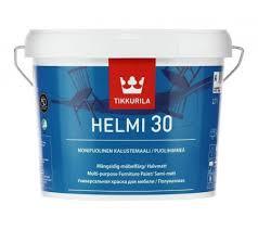 Helmi 30 selyemfényű bútorfesték A, 3 literes