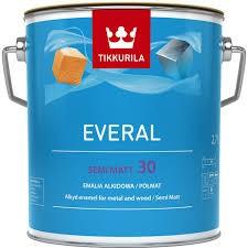 """Everal Semi Matt (30)  """"A""""  zománcfesték, (Universal selyemfényű), 2,7 liter"""