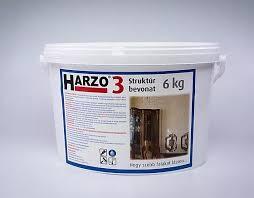 HARZO-3 Plusz Struktúr bevonat, 6 kg