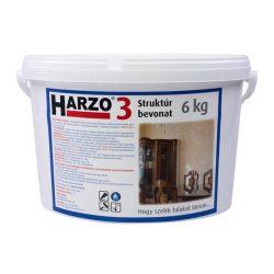HARZO-3 Struktúr bevonat, 6 kg