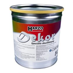 HARZO-Dekor díszítőanyag, 5 literes