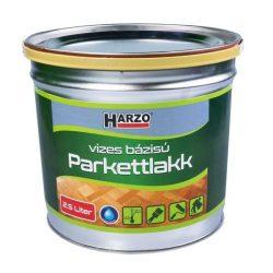 HARZO Parkettlakk vízbázisú selyemfényű, 2,5 lit