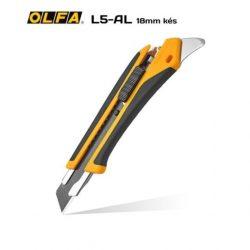 OLFA L5-AL - 18mm-es standard kés/sniccer
