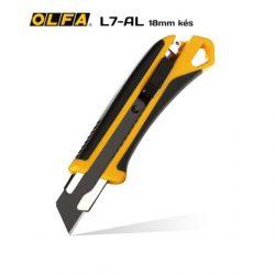 OLFA L7-AL - 18mm-es standard kés / sniccer.