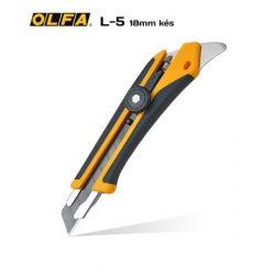 OLFA L-5 - 18mm-es standard kés / sniccer