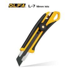OLFA L-7 - 18mm-es standard kés / sniccer.