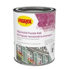 PIGROL Időjárásálló festék K60 perlweiss/fehér
